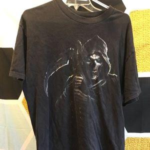 Vintage Grim Reaper T Shirt